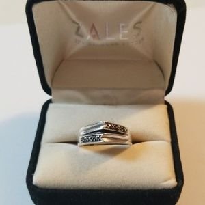 Vintage Sterling Silver Marcasite Ring Size 7.5